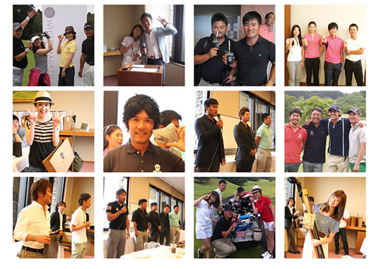 2011年度に開催されたWMPゴルフコンペの模様